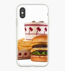 in-n-out aesthetic iPhone Case