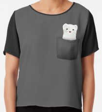 pocket ferret Chiffon Top