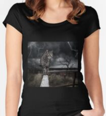 Calico Courage Women's Fitted Scoop T-Shirt