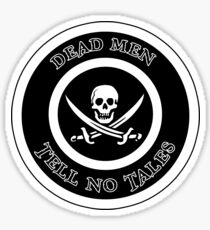 PiratesDeadMen Sticker