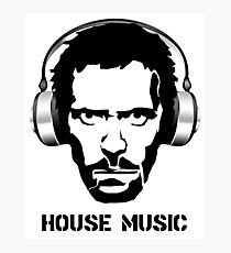 Dr House Music Photographic Print