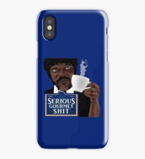 Serious Gourmet Shit iPhone Case