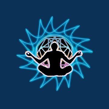 Men's ~ Meditation & sacred geometry by LeahMcNeir