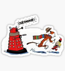 Calvin And Hobbes Adventure Sticker