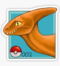 Charmelion Bust Sticker Sticker
