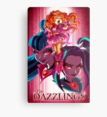 The Dazzlings Metal Print