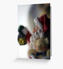 Shh! Santa's Coming Greeting Card