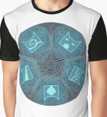 Warriors - Five Giants Wheel Graphic T-Shirt
