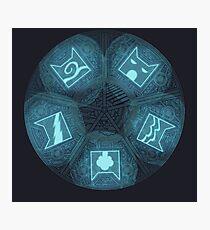 Warriors - Five Giants Wheel Photographic Print
