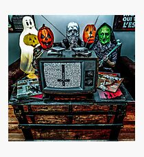 Halloween III - Say You Love Satan 80s Horror Podcast Photographic Print