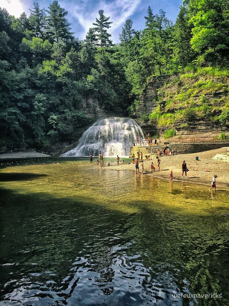 Buttermilk Waterfall  by wefewmavericks