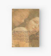 Cuaderno de tapa dura Outlander Quote/Jamie & Claire Fraser