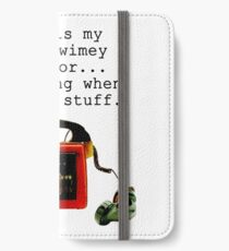Doctor Who, This is My Timey-Wimey Detector... iPhone Wallet/Case/Skin
