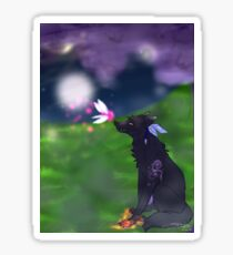 Wolf And The Fairy Sticker