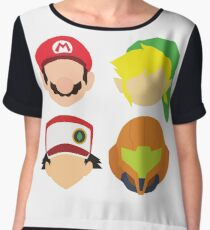 Nintendo Greats Chiffon Top