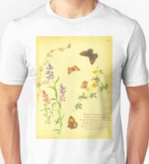 Milkwort. 1880's antique book T-Shirt