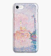 Paul Signac - Venice, The Pink Cloud,  Seascape  iPhone Case/Skin