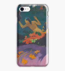 Paul Gauguin - Fatata te Miti By the Sea . Seascape iPhone Case/Skin