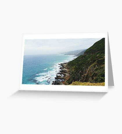 The Great Ocean Road Greeting Card