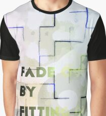 Fade Out by fitting in Graphic T-Shirt