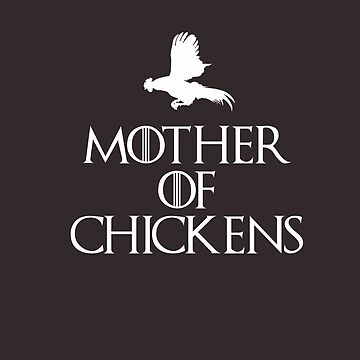 Mother Of Chickens -Dark T by strawberrymouse