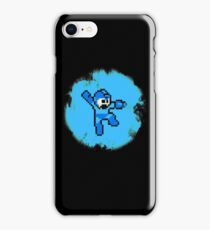 Mega Man Jumps and Shoots iPhone Case/Skin
