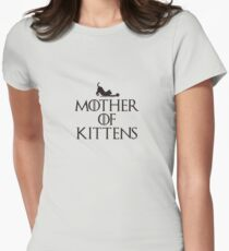 Mother of Kittens Womens Fitted T-Shirt
