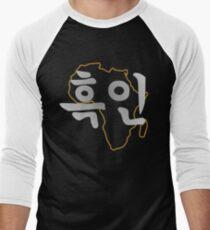 Blasian Third Culture Series (Korean) Baseball ¾ Sleeve T-Shirt