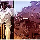 Blues Train by Wilfried van Dokkumburg