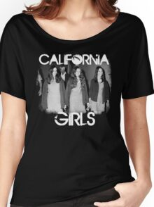 Susan Atkins/Patricia Krenwinkel/Leslie Van Houten - California Girls Women's Relaxed Fit T-Shirt