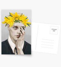 Flower crown Noah Postcards