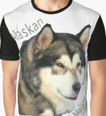 Products with breeds of dogs, Alaskan Malamute Graphic T-Shirt