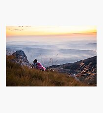 6725ft at 5:23 am Photographic Print