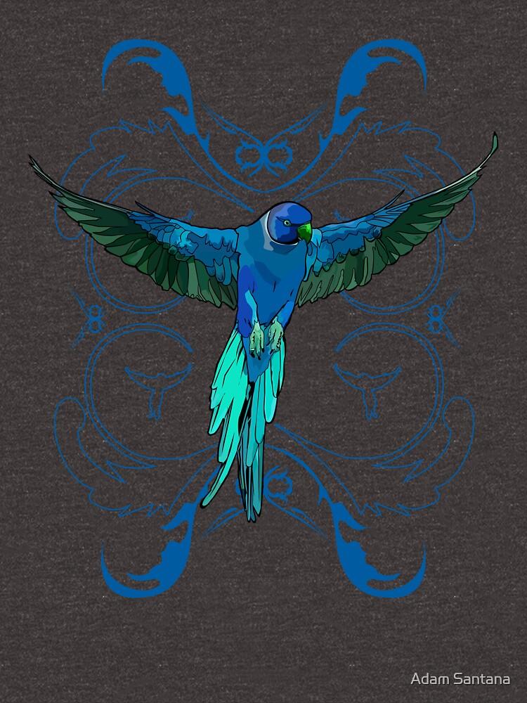 Blue Parrot by Adamzworld