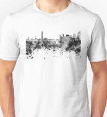 Buenos Aires skyline in black watercolor Unisex T-Shirt