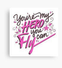 Fly - Jessica Canvas Print