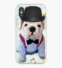Bulldog Hat iPhone Case