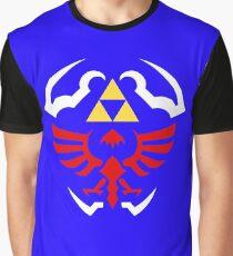 Hylian Shield - Legend of Zelda Graphic T-Shirt