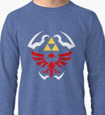 Hylian Shield - Legend of Zelda Lightweight Sweatshirt