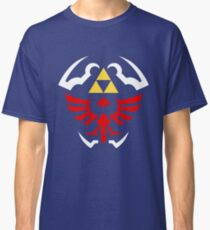Hylian Shield - Legend of Zelda Classic T-Shirt