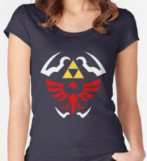 Hylian Shield - Legend of Zelda Women's Fitted Scoop T-Shirt