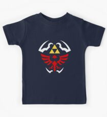 Hylian Shield - Legend of Zelda Kids T-Shirt
