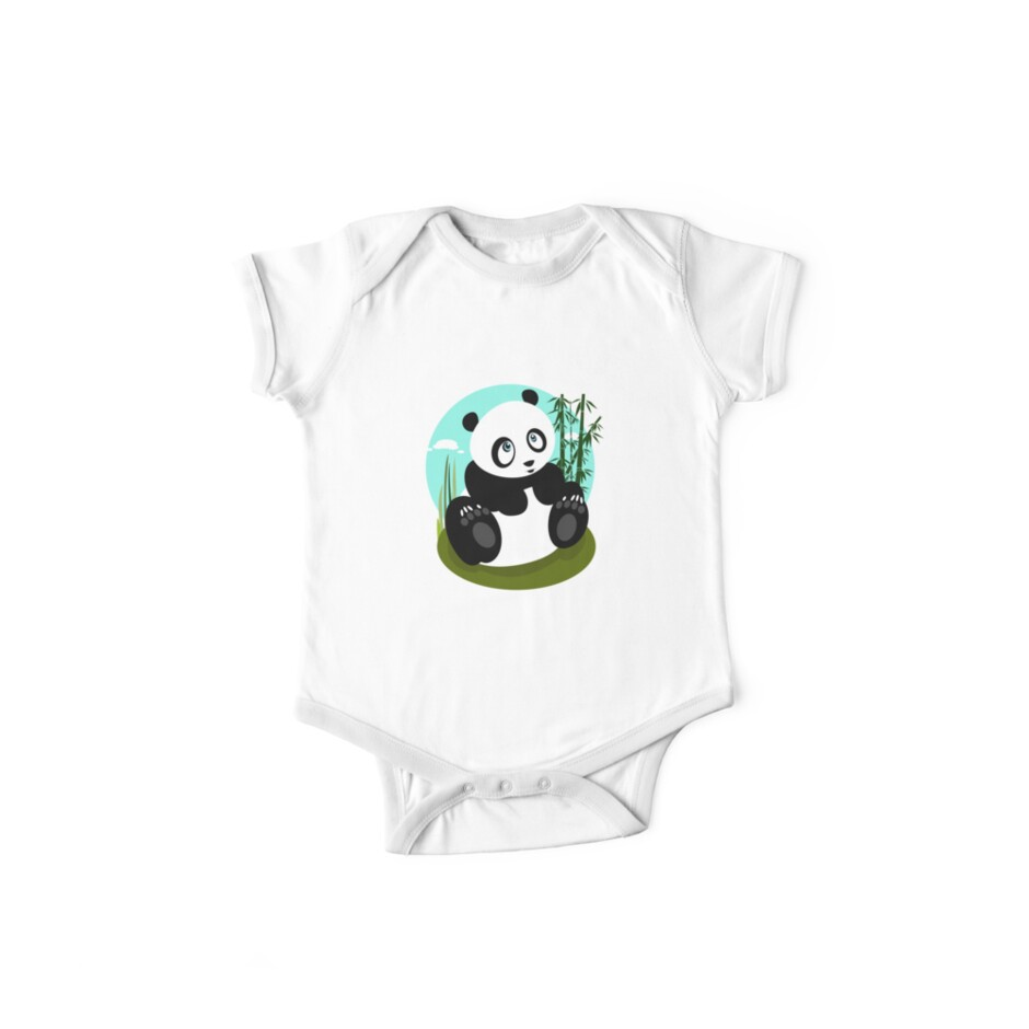 Baby Panda by Adam Santana