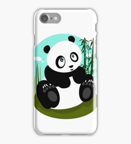 Baby Panda iPhone Case/Skin