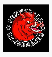 Sunnydale Razorbacks Photographic Print