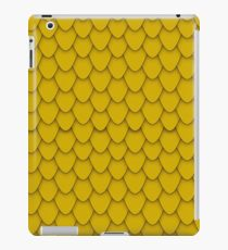 Gold Dragon Scales iPad Case/Skin