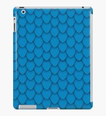 Blue Dragon Scales iPad Case/Skin