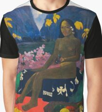 Paul Gauguin - The Seed of the Areoi  Graphic T-Shirt