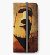 Easter Island Moai Heads iPhone Wallet/Case/Skin