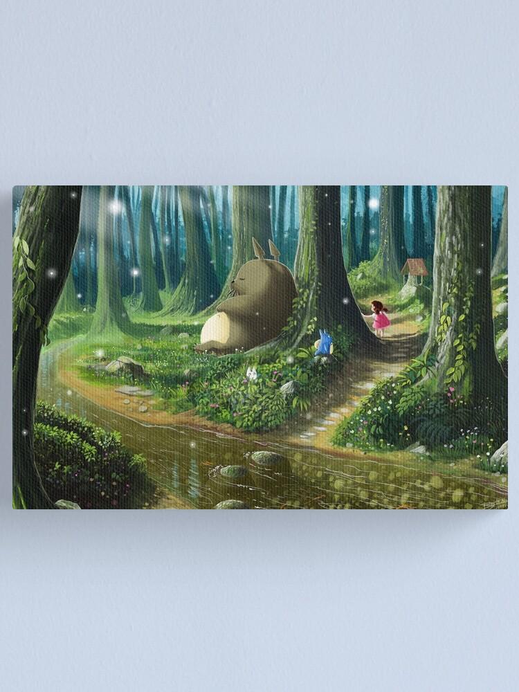 Vista alternativa de Lienzo Totoro and Mei